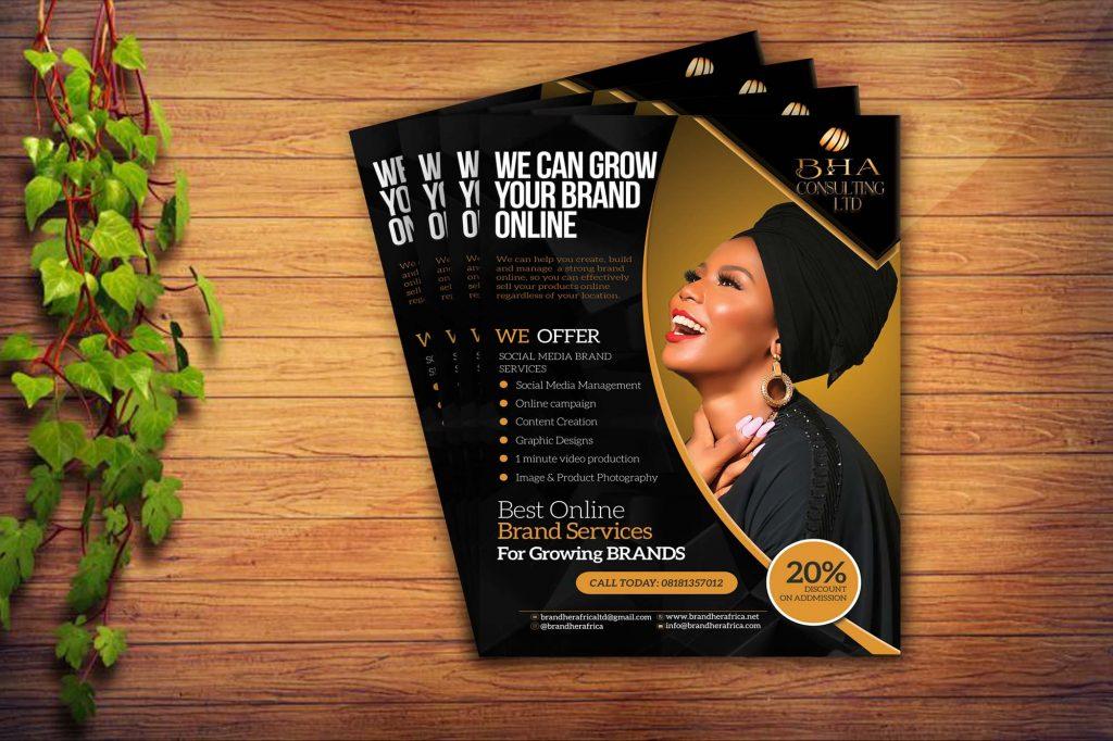 Brand Her Africa Flyer Design