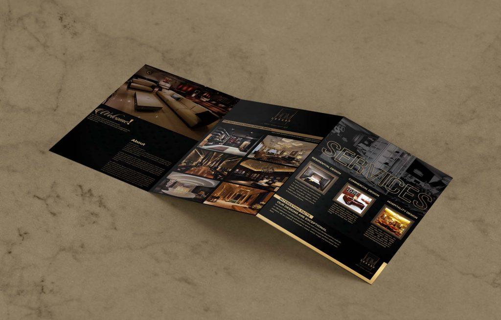 Hom Luxury Back Brochure