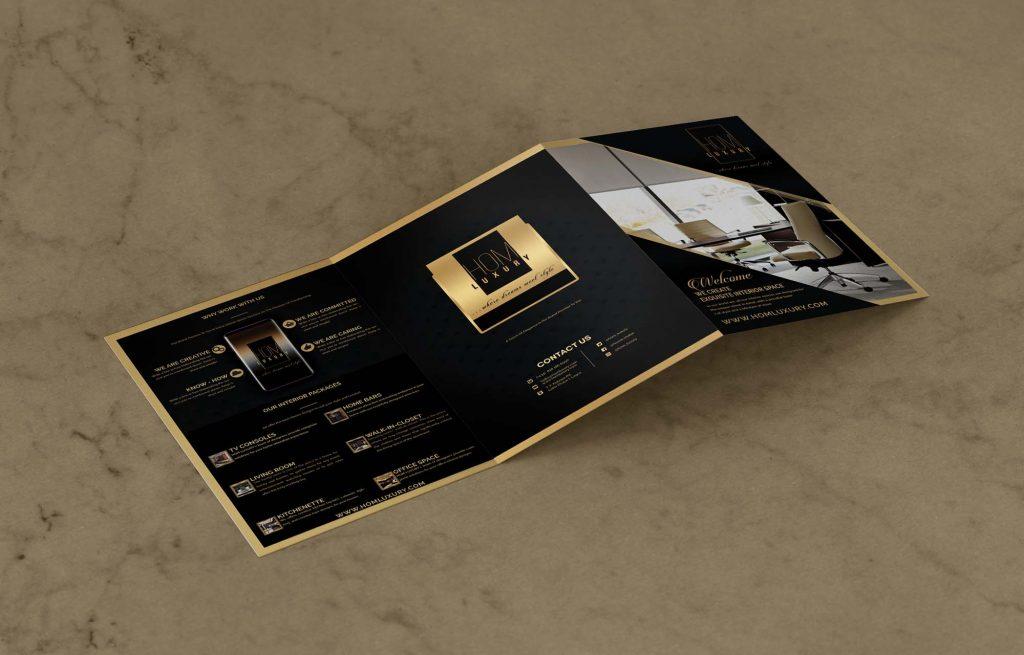 Hom Luxury Front Brochure